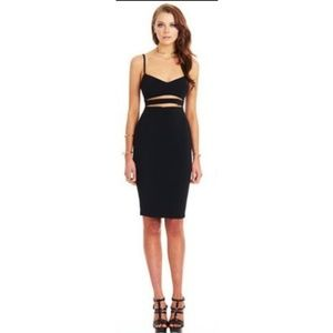 NWOT - Sexy Cut Out Black Body Con Dress